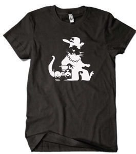 Banksy Rap Rat t-shirt