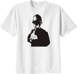 Banksy Rude Copper t-shirt