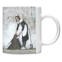Coffe mug Banksy Maid